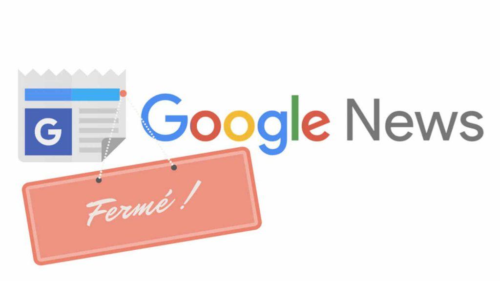 google menace de fermer google actualité suite à la directive copyright