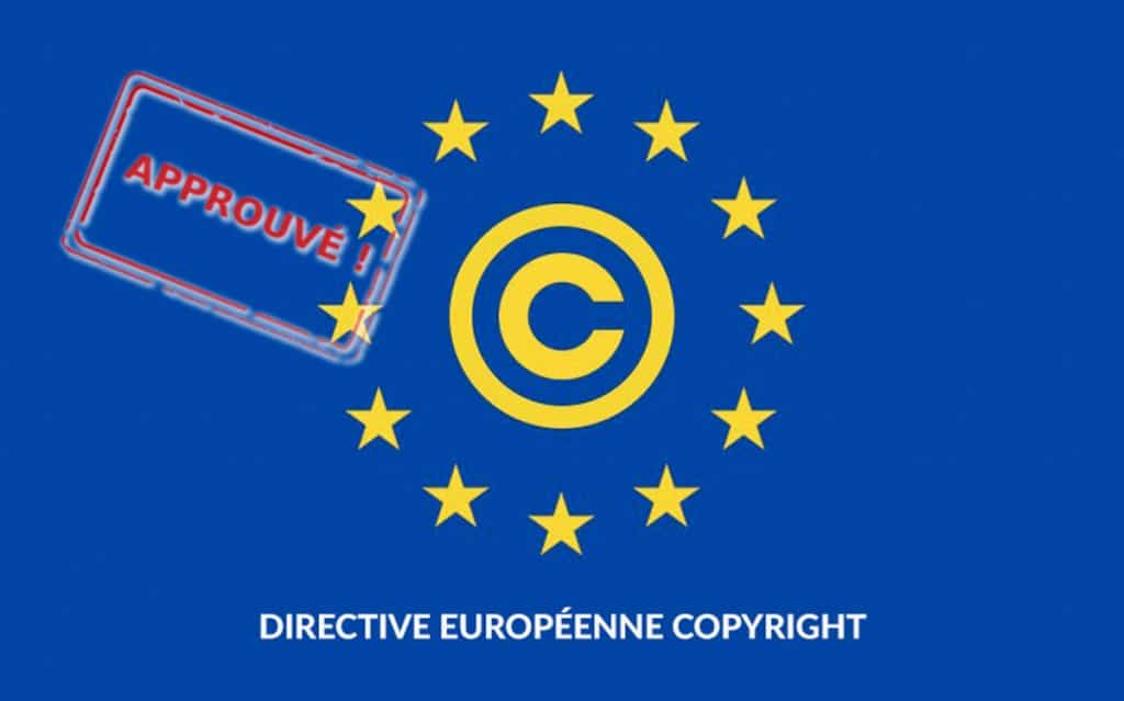 directive copyright approuvée, qu'est-ce qui va changer ?